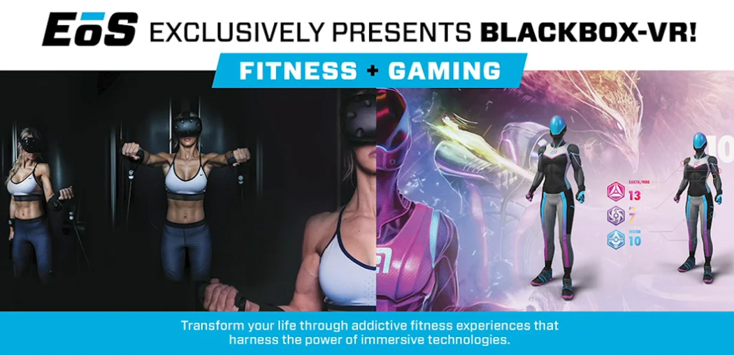 BIG NEWS: Black Box VR is opening its Virtual Training Centers inside EoS Fitness gyms!
