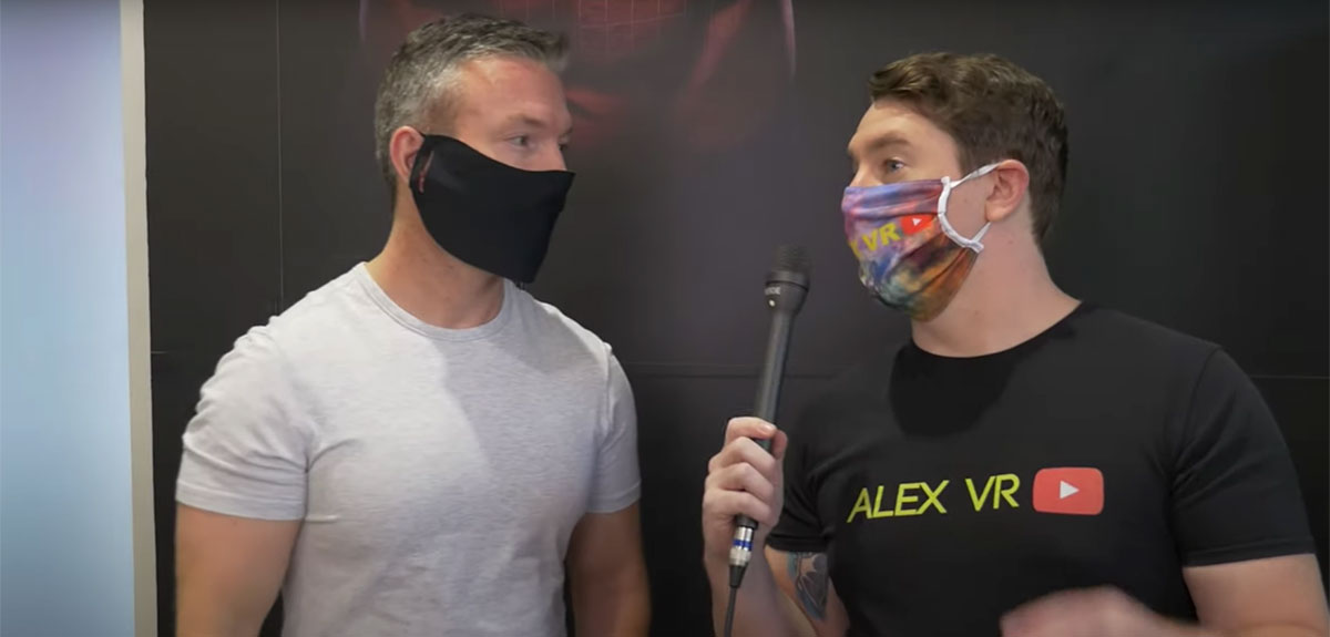 Alex VR Steps Into His First Black Box VR Workout Battle
