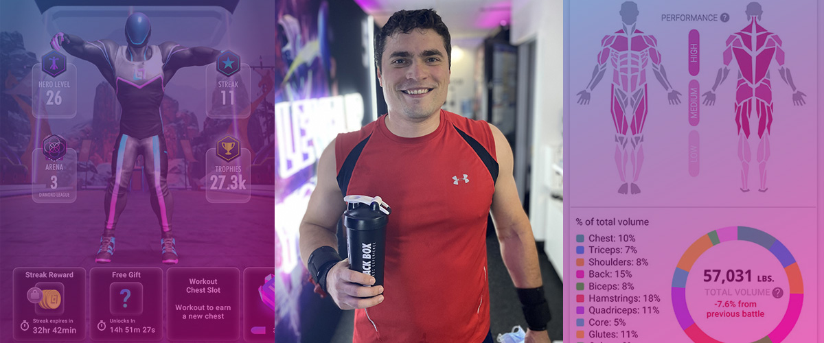 Black Box VR Member Barrett Law Feeds His Competitive Side and Gains Strength From His Workouts