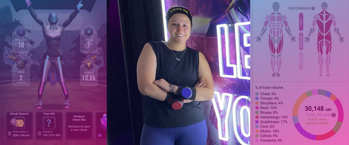 Rachel Beats Her Depression One Rep At a Time With Black Box Fitness