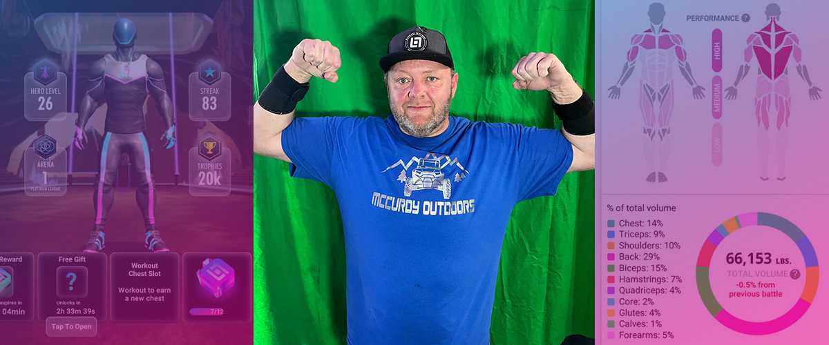 Randy Has Lost Over 100 Pounds Since He Joined Black Box VR
